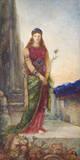 Helena Vor Den Mauern Trojas Wydruk giclee premium autor Gustave Moreau