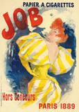 Job Premium Giclee Print by Jules Chéret