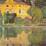 Gustav Klimt - Schloss Kammer Am Attersee Speciální digitálně vytištěná reprodukce