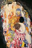 Leben Giclée-Premiumdruck von Gustav Klimt