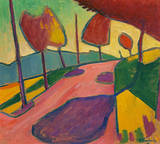 Murnauer Landschaft Premium Giclee Print by Alexej Von Jawlensky