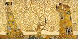 Livets träd Gicléetryck på högkvalitetspapper av Gustav Klimt