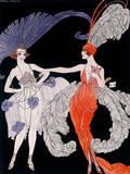 Der Kauf Premium Giclee Print by Georges Barbier