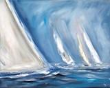 Wind Blows Premium Giclee Print by Ines Ramm