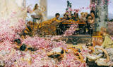 The Roses of Heliogabalus, c.1888 Premium Giclee Print by Sir Lawrence Alma-Tadema