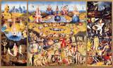 Hieronymus Bosch - Zahrada pozemských rozkoší, c.1504 Speciální digitálně vytištěná reprodukce