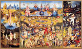 The Garden of Earthly Delights, c.1504 Premium Giclee Print by Hieronymus Bosch