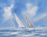 Auf Dem Meer Premium Giclee Print by Ines Ramm