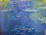 Nympheas Giclée-Premiumdruck von Claude Monet