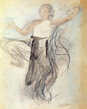 Cambodian Dancer Premium Giclee Print by Auguste Rodin