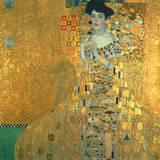 Bildnis Der Adele Bloch-Bauer I Lámina giclée de primera calidad por Gustav Klimt