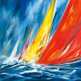 Dynamic Sail II Premium Giclee Print by Ines Ramm