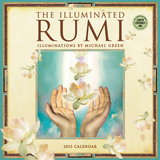 Illuminated Rumi - 2015 Calendar Calendars