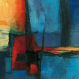 Abstract Night Giclée-Premiumdruck von Bea Danckaert