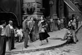 American Girl Giclee-tryk i høj kvalitet af Ruth Orkin