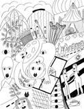 Horner Impressionen II Giclee-tryk i høj kvalitet af Sabine Kremer