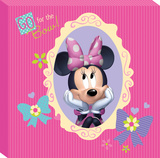 Disney Minnie Mouse - Minnie Bowtique Go for the Bow Canvas Gallery Wrapped Canvas