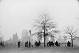 CPS Silhouette Premium Giclee Print by Ruth Orkin