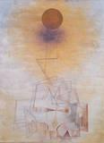 Grenzen Des Verstandes Giclee-tryk i høj kvalitet af Paul Klee