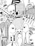 Horner Impressionen III Giclee-tryk i høj kvalitet af Sabine Kremer