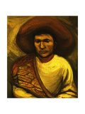 Farmhand; Peon, C.1935 Giclee Print by David Alfaro Siqueiros