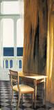 Interieur mit Sonne und Meer II Giclée-Premiumdruck von Henning Von Gierke