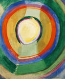 Formes Circulaires Premium Giclee Print by Robert Delaunay