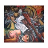 Katharsis, 1934 Gicléetryck av Jose Clemente Orozco
