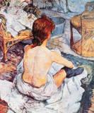 La Toilette Lámina giclée premium por Henri de Toulouse-Lautrec