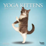 Yoga Kittens - 2015 Mini Calendar Calendars