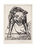 Guardian De La Paz, 1947 Giclee Print by David Alfaro Siqueiros