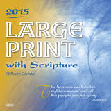 Large Print with Scripture - 2015 Calendar Calendars