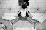 Tirza on Sinks Premium Giclee Print by Ruth Orkin