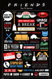 Friends Infographic Posters