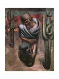 Peasant Mother, 1962 Giclee Print by David Alfaro Siqueiros