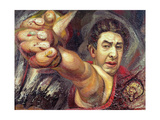Self Portrait, 1945 Giclee Print by David Alfaro Siqueiros