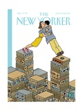 Love Stories - The New Yorker Cover, June 9, 2014 Regular Giclee Print by Joost Swarte