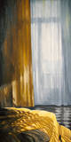 Interieur mit Sonne und Meer I Giclée-Premiumdruck von Henning Von Gierke