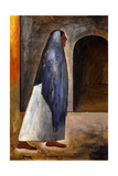Woman with Shawl; Mujer Con Rebozo Giclee Print by David Alfaro Siqueiros
