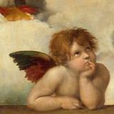 AngeI Reproduction procédé giclée Premium par  Raphael
