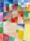Motiv Aus Hammamet Reproduction giclée Premium par Paul Klee