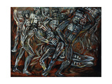 The White Gods; Los Teules, 1947 Giclee Print by Jose Clemente Orozco