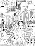 Horner Impressionen I Giclee-tryk i høj kvalitet af Sabine Kremer