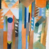 Der Wald, Der Aus Dem Samenkorn. Premium Giclee Print by Paul Klee