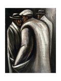 The Unemployed, C.1928-30 Gicléetryck av Jose Clemente Orozco
