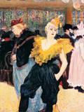 La Clownesse Lámina giclée premium por Henri de Toulouse-Lautrec