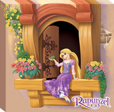 Disney Tangled - Rapunzel Movie Moment Canvas Stretched Canvas Print