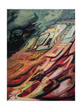 Geographic Architecture, 1959 Giclee Print by David Alfaro Siqueiros