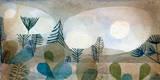 Oceanische Landschaft Giclee-tryk i høj kvalitet af Paul Klee