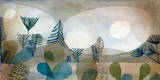 Oceanische Landschaft Giclée-Premiumdruck von Paul Klee